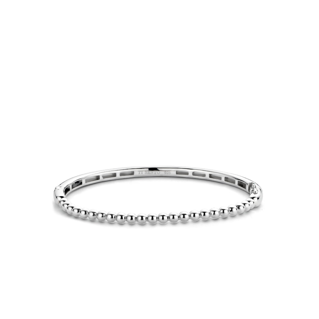 Bubble Bangle - Silver