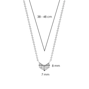 TI SENTO - Milano Necklace 3952ZI