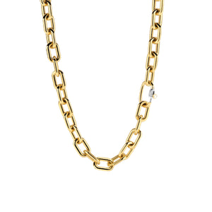 Ti Sento Large Gold Link Necklace