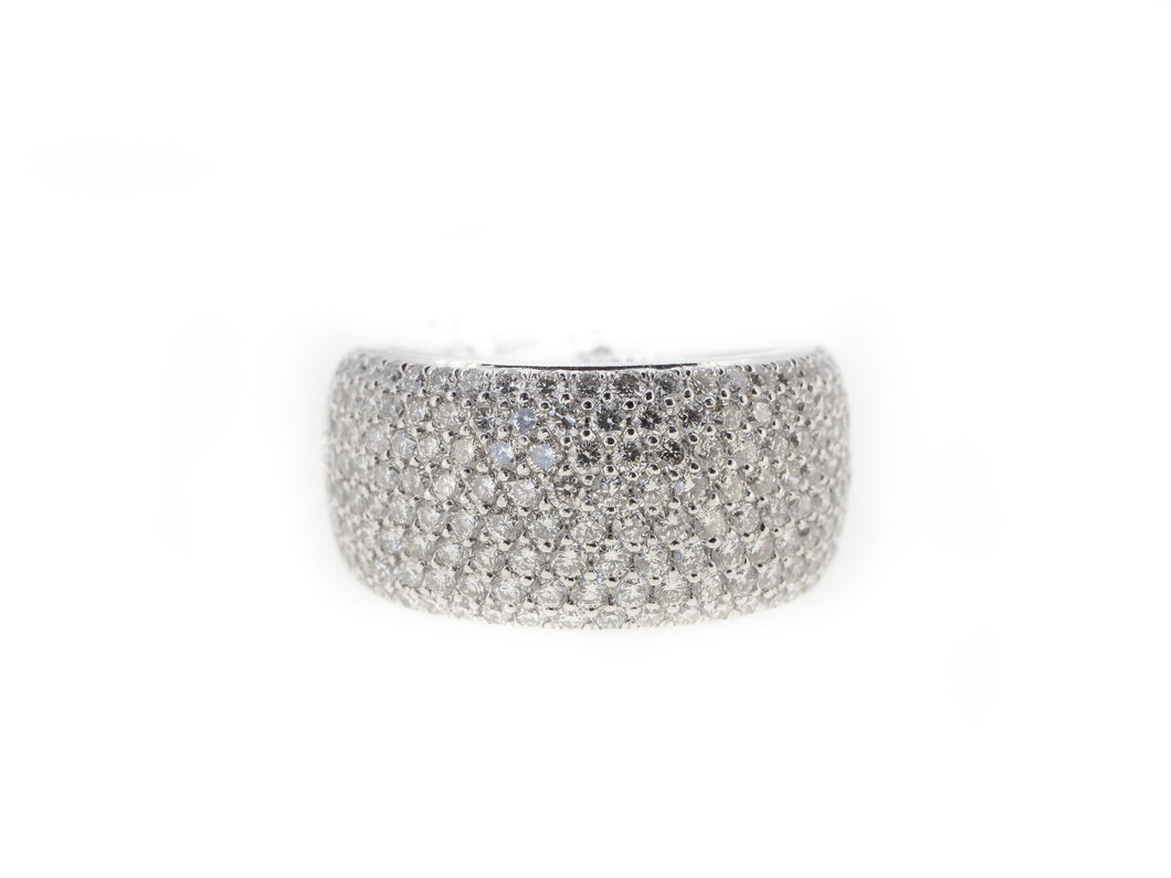 5row pave ring