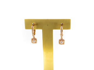 square diamond dangles