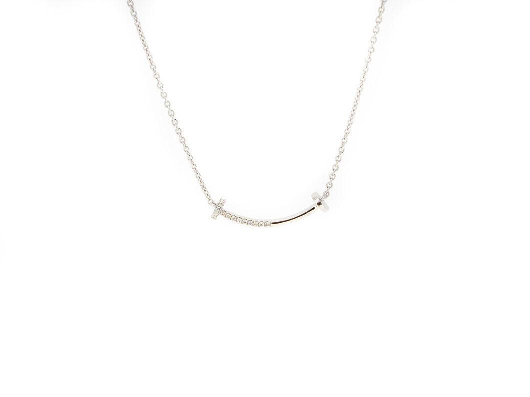 Diamond Nail necklace