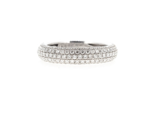 5 Row Pave Ring