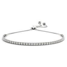 Load image into Gallery viewer, Diamond Bolo Bracelet