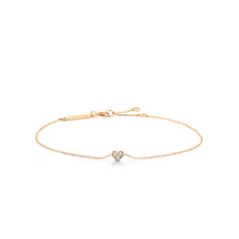 Load image into Gallery viewer, SOPHIE | Diamond Heart Bracelet
