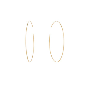 DONNA | Large Seamless Hoops