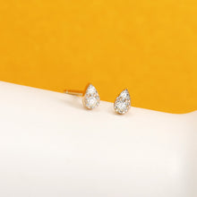 Load image into Gallery viewer, ROSA | Diamond Pave Teardrop Studs