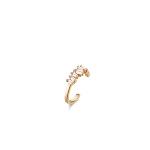CHRISTINA | Single Topaz Ear Cuff