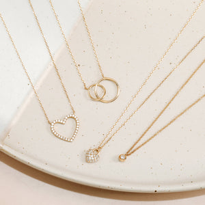 BELLA | Diamond Heart Pendant