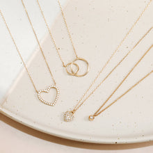 Load image into Gallery viewer, HELEN | Interlinked Circles Necklace