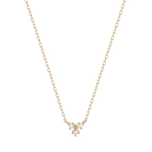 CLOVER | Diamond Necklace