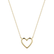 Load image into Gallery viewer, JANE | Open Heart Necklace