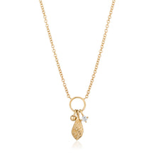 Load image into Gallery viewer, ALMA |  Diamond Charm Necklace