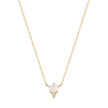 Load image into Gallery viewer, ZENA | Opal and Diamond Necklace