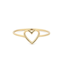 Load image into Gallery viewer, JANE | Open Heart Ring