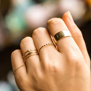 hand model stacker rings