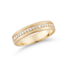 Load image into Gallery viewer, 14k yellow gold kin band