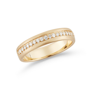 14k yellow gold kin band