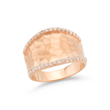 Load image into Gallery viewer, diamond diana ring rose