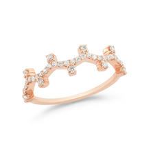 Load image into Gallery viewer, Diamond Clark Stackable Ring