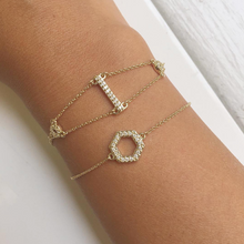 Load image into Gallery viewer, petite diamond bracelet