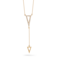 Load image into Gallery viewer, Diamond lariat
