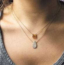 Load image into Gallery viewer, Diamond nolita model necklace