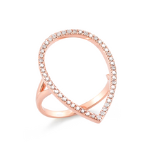 Load image into Gallery viewer, 14kt Rose gold ring