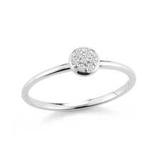 Load image into Gallery viewer, white gold stacker ring