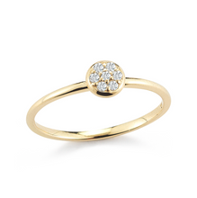 Load image into Gallery viewer, yellow gold stacker ring
