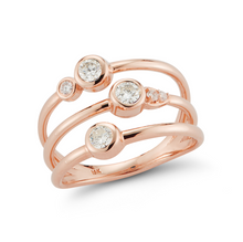 Load image into Gallery viewer, diamond portia ring