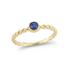 Load image into Gallery viewer, sapphire nico ring