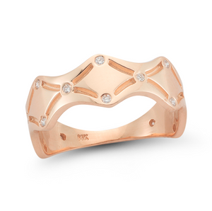 thea ring rose gold
