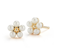 Load image into Gallery viewer, mini pearl earrings