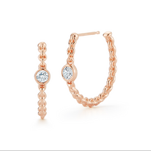 Load image into Gallery viewer, Diamond Hoops chain