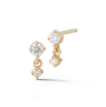 Load image into Gallery viewer, Diamond Billie Earrings