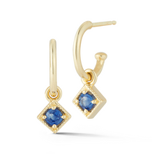 Load image into Gallery viewer, sapphire dante earrings