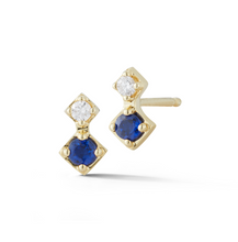 Load image into Gallery viewer, Sapphire Venice Earrings