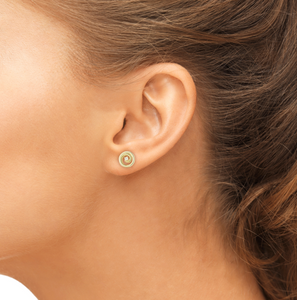 diamond tilda earring