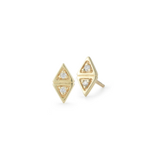 Load image into Gallery viewer, diamond maddie earrings