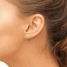 Load image into Gallery viewer, gigdget earrings on model