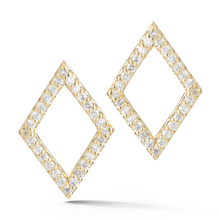 Load image into Gallery viewer, DIAMOND PRISM EARRINGS