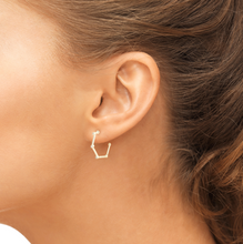 Load image into Gallery viewer, lenox earrings on model