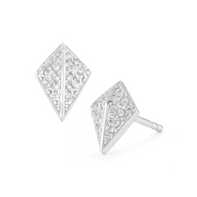Load image into Gallery viewer, diamond knight earrings