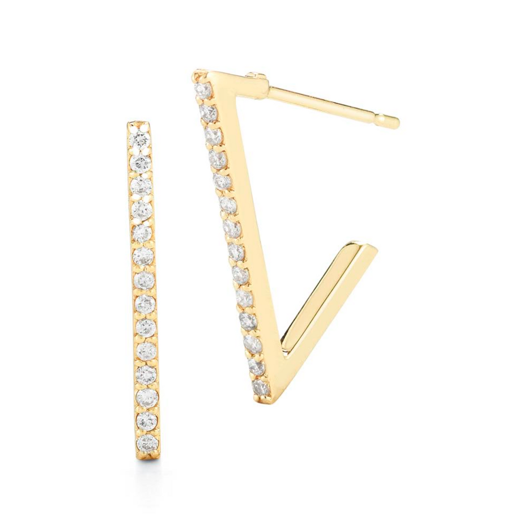 titan diamond earrings