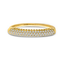 Load image into Gallery viewer, Spryngs Diamond Pave Stretch Ring