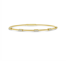 Load image into Gallery viewer, Triple Set Diamond Flex Bracelet