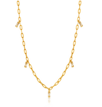 Load image into Gallery viewer, Gold Glow Drop Necklace