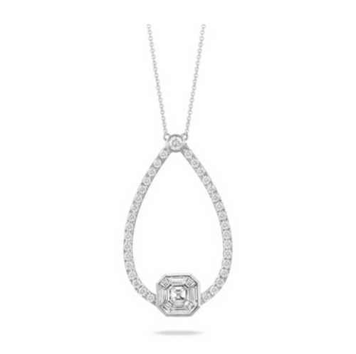 mondrian diamond necklace