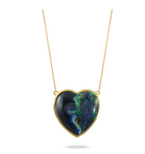 terra heart necklace
